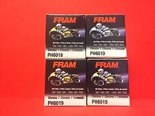 NEW Lot of 4 Fram PH6019 Oil Filter, Chrome for 63782-80 63810-80 63810-80A
