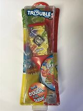 "Pop-O-Matic ""TROUBLE"" Game Ballpoint Pen With Working Pop-O-Matic Bubble"