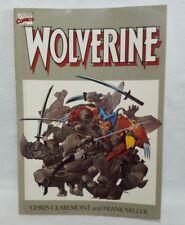 Wolverine Graphic Novel 1992 Marvel comics Chris Claremont, Frank Miller