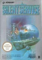 Nintendo NES - Silent Service PAL-B mit OVP sehr guter Zustand
