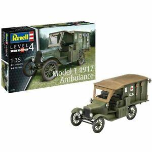 REVELL Model T 1917 Ambulance 1:35 Military Model Kit 03285