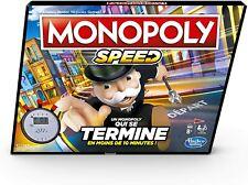 Hasbro Monopoly Speed - Jeu de Societe - Jeu de Plateau - Version Française neuf