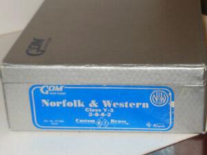 HO CUSTOM BRASS Royale N&W Norfolk&Western Y-3 2-8-8-2 unptd by GOM
