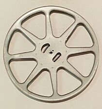 Antique 16mm FILM METAL REEL Vintage Motion Picture Movie Take Up THEATER DECOR
