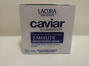 Lacura Caviar Illumination Anti Aging 3 Minute Cell Renewal Peel Mask 50ml