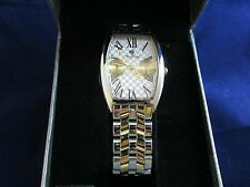 Mens Croton Watch Japan Quartz Stainless Steel Sapphire Crystal Water Resistant