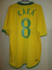 Brasil 2006 Casa Kaka Camiseta De Fútbol Talla Xl / 5520