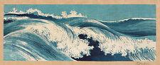 Japanese Print Reproductions: Konen: Ocean Waves:  3 Fine Art Prints
