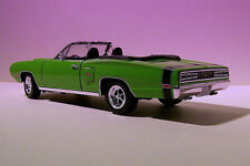 DODGE CORONET R-T 1970 GREEN YATMING 1/18 1/18 USA ROADSTER CABRIOLET VERT VERDE