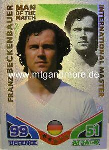 Match Attax World Stars Legends - Franz Beckenbauer