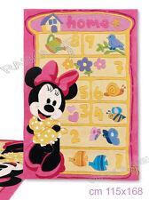 "Tappeto Gioco Minnie ""Home"" Cameretta 115x168cm Disney"