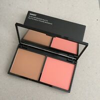 Kiko Milano Blush Bronzer Duo Face Palette 02 Biscuit And Coral NEW