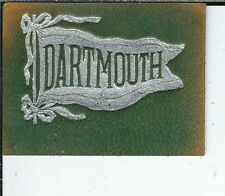 BA-171 Dartmouth College University Flag Vintage Leather Tobacco Patch 1901-1915