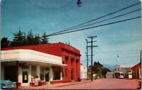 Cambria CA Cambria - MAIN STREET VIEW - COLOR  PHOTO - CARS Vintage Postcard
