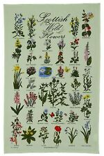 Scottish Tea Towel/Cloth 'Wild Flowers' Gift from Scotland