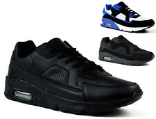MENS LIGHTWEIGHT LACE UP TRAINERS RUNNING SNEAKERS SHOES 6-12