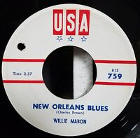 Willie Mabon / Blues 45 / New Orleans Blues / Some More / USA 814 759