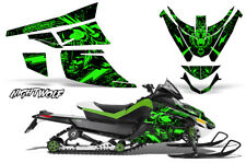 Arctic Cat Z1 Turbo Decal Graphics Kit Sled Snowmobile Wrap 06-12 NIGHTWOLF GRN