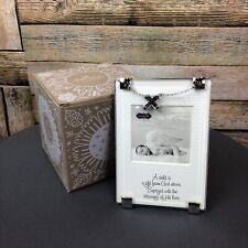 Mud Pie Baptism Frame Brand New God's gift Small Religious Picture Frame