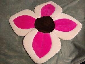 Blooming Bath Lotus Baby Bathing Mat, Pink and Brown Baby Flower Tub Original
