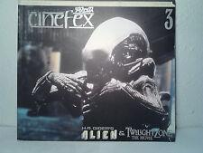cinefex magazine  #3 1984  H.R.Giger's Alien & Twilight Zone the Movie  Japanese