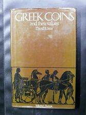 GREEK COINS AND THEIR VALUES - DAVID R SEAR - VOLUME 1 EUROPE - EDITION DE 1978