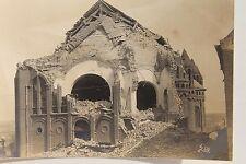26229 Foto AK zerstörte Kirche im Osten vermutlich Ukraine 24.6.1917 1. WK