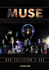 MUSE New Sealed 2017 COMPLETE HISTORY, BIOGRAPHY & MORE 2 DVD BOXSET