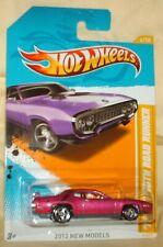 Hot Wheels 2012 New Models # 6 1971 Plymouth Road Runner purple