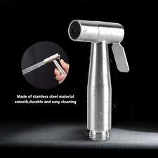 304 Stainless Steel Toilet Handheld Bidet Sprayer Bathroom Water Shower Head