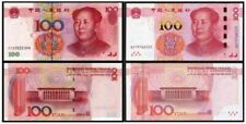 China 100 Yuan : 2005 + 2015 (PERFECT UNC) OFFER --> No profit let go
