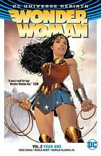 Wonder Woman Volume 2 Year One GN Greg Rucka Nicola Scott Rebirth New NM