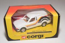 ^ CORGI TOYS 503 FORD ESCORT 55 VAN DUNLOP MINT BOXED