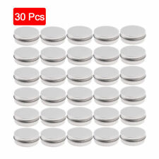 30/10pcs Cosmetic Empty Jar Pot Cream Lip Balm Jar Bottle Box Container Tin Case