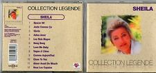 CD 12T  SHEILA  COLLECTION  LEGENDE /GLORIA/SPACER98/....  DE 1999  COMME NEUF