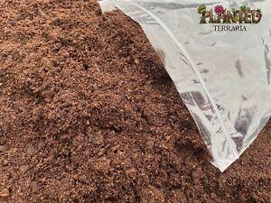 PlantedTerraria Irish Moss Peat Substrate Reptile Bioactive Vivarium  2.5-10L