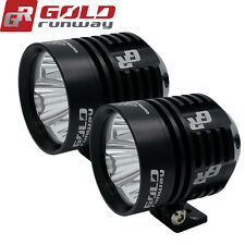 2x 30W Cree LED Work Light Spot Offroad Driving Fog Lamp Motorcycle 4WD UTE