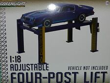 Greenlight Collectibles 1/1/8 Adjustable Four Post Lift (Hoist) Chevrolet MiB