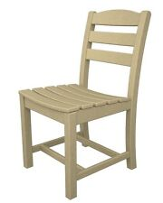 Polywood La Casa Cafe Dining Side Chair Dining Chair Sand - TD100SA Dining Chair