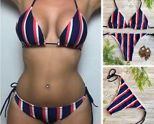 Bikini-Swimsuit-Women-Sexy-Bathing-Stripes-Beach-Set-Padded-Summer-Swimwear-USA