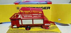 Britains Farm 9578 Pottinger Loader Wagon Trailer Boxed