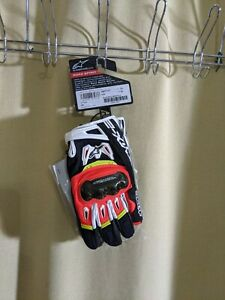 Mixed Lot Of 6 Troy Lee/Fox/Shift And Alpinestars Gloves Various Sizes