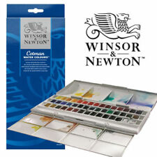 Winsor & Newton Cotman 45 Half Pan Studio Set Acquerelli (ARTISTI COLORI AD ACQUA