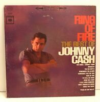 Ring Of Fire The Best Of Johnny Cash Vinyl LP Record Country Vintage