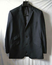 SUIT JACKET -  GREY GIBSON LONDON 40 REG STYLISH 50%  WOOL 50% Polyester