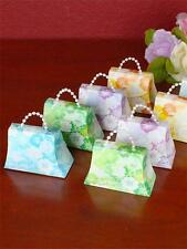 50 Assorted Colors Mini Purse Favor boxes Wedding,Baby Shower,Engagements,Party