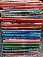 20 Classic Haynes motorcycle / Car Workshop Manuals Job Lot , resale, market