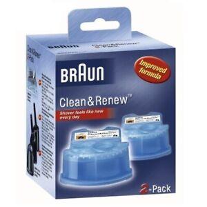 Braun CCR 2 Clean & Renew Reinigungskartusche 2er-Pack NEU