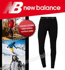 calzamaglia NEW BALANCE uomo CALDO COTONE CALCIO SPORT TREKKING SCI RUNNING NEVE