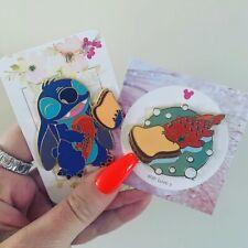 Lilo And Stitch Pudge Fish Peanut Butter Sandwich Fantasy Disney Pin